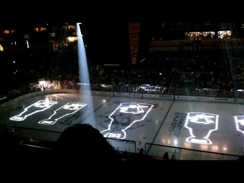 2018 Pittsburgh Penguins playoffs home opener