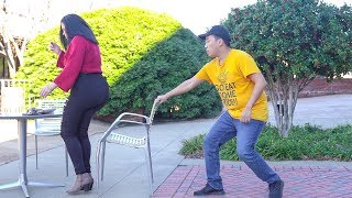 Chair Pulling Prank in Columbia!!!