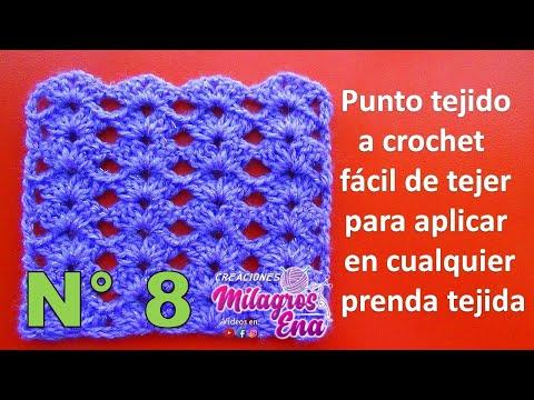 uncinetto: un punto a crochet facile e di grande effetto