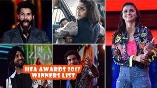 IIFA Awards 2017 Winners List