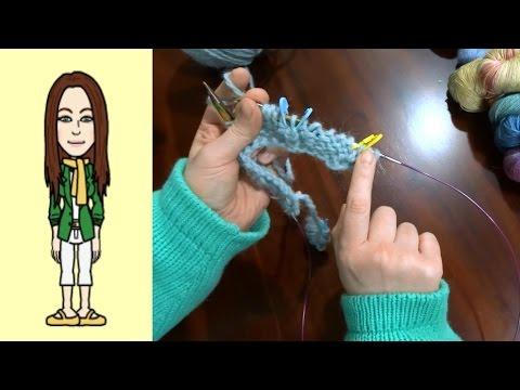 Zunahmen für Anfänger für RVO Raglan von oben Pullover stricken (Teil 2 von 3)