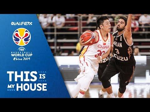 China v Jordan - Highlights - FIBA Basketball World Cup 2019 - Asian Qualifiers