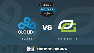 Cloud9 vs OpTic Gaming - ESL Pro League S6 NA - de_mirage [sleepsomewhile, Crystalmay]