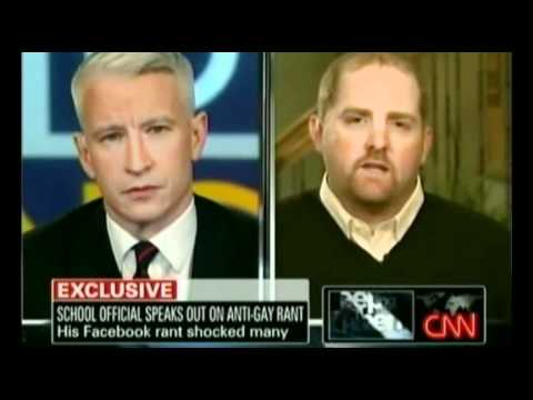 Anti-Gay Ranter vs. Anderson Cooper Part 1 Video