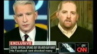 Video Anti-Gay Ranter vs. Anderson Cooper Part 1 MP3, 3GP, MP4, WEBM, AVI, FLV Oktober 2018