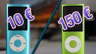 Video MP3 (10€) VS iPod (150€) MP3, 3GP, MP4, WEBM, AVI, FLV Oktober 2017