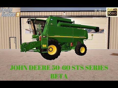 John Deere 50-60 STS series Beta