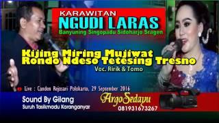 MEDLEY Sragenan KIJING MIRING MUJIWAT RONDO NDESO TETESING TRESNO Cokek Ngudi Laras