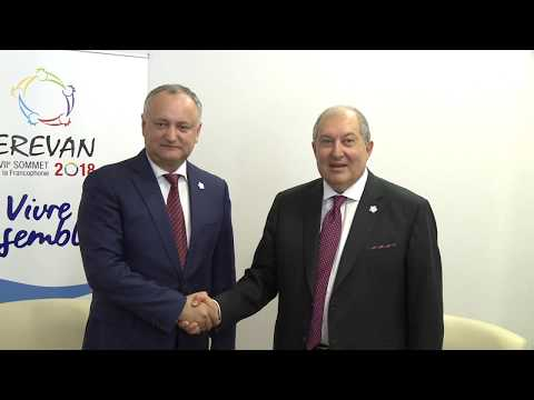 Președintele Republicii Moldova a avut întrevederi cu Președintele și prim-ministrul Armeniei