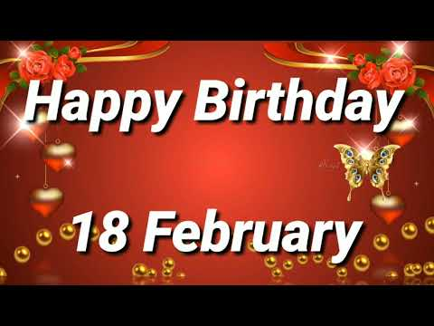 Birthday wishes for best friend - 18 February Birthday Status  Birthday Status 18 February
