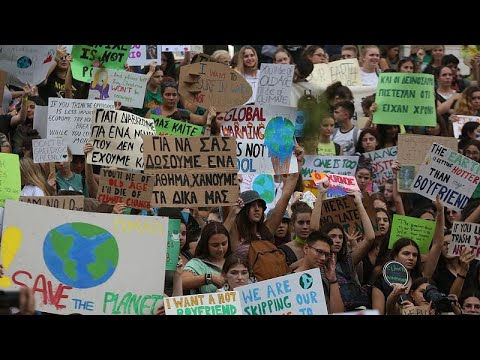 Oι μαθητές κατά της κλιματικής αλλαγής