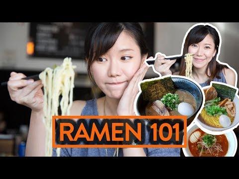 RAMEN 101 w/ NARISA SUZUKI - Fung Bros Food (видео)