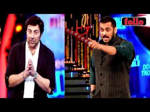 Salman Ruffles Sunny Deol's Feathers!
