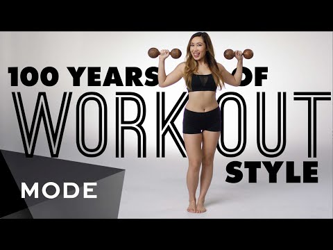 100 Years of Fitness Fashion