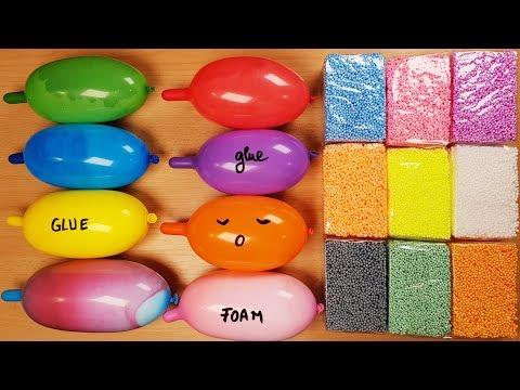 Making Slime With Funny Balloons And Floam Bricks_A héten feltöltött legjobb vicces videók