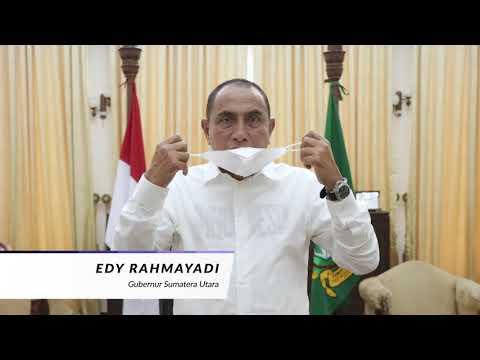 Himbauam Vaksinasi Covid 19 oleh Bapak Gubernur Sumatera Utara