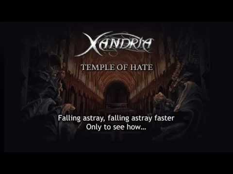 XANDRIA - Temple Of Hate (audio)