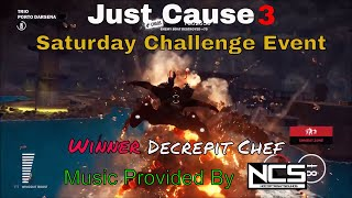 Just Cause 3 Challenge Video rules:Copy any challenge as long as you change it so it's not the same.Post as many challenges on the same challenge video as you want but always make a new comment do not post on replies or use capsWhen posting a challenge keep it to one comment on one video. Do not spam on other videos, or use exclamation points or emoji.Do not change your comment once I accept it.Challenges should be posted before 9:00 AM on Thursday to be candidates for the following week's Challenge videos.Friday Viewer Challenges comes out Friday 7:00 amFriday Featured Viewer Challenge comes out Friday 9:00 pmSaturday Challenge Event comes out Saturday 9:00 pmall times are (MDT)---Music used in the video provided by NoCopyrightsounds [NCS]Intro - Desmeon - Hellcat [NCS Release]Waysons - Eternal Minds [NCS Release]Vexento - Masked Raver [NCS Release]---want to see some cool Game GIF https://gfycat.com/@charleytank---Nanos channel (Show your support by checking out their channel):https://www.youtube.com/channel/UC13x8ujr2JictFvUFITYyMA---Nanos Development blogs for the Multiplayer can also be found here:https://community.nanos.io/---Check out Gaveroid on YouTube https://www.youtube.com/user/gaveroid418 I also play on his JC3MP server http://discord.gaveroid.com come join the fun---Game Servers--------Gaveroid's JC2MP Server - jc-mp.gaveroid.com--------Gaveroid's JC3MP Server - jc3mp.gaveroid.com--------Gaveroid's Garry's Mod DarkRP Server - gmod.gaveroid.com--------Gaveroid's TeamSpeak 3 Server - teamspeak.gaveroid.com--------Gaveroid's CSGO Server - (find in server browser, search Gaveroid)---Protato (An awesome Just Cause 3 Modder!):https://www.youtube.com/user/Eonzenx---Check out Decrepit Chef on YouTubehttps://www.youtube.com/user/jasarmj7---You Do not have permission to copy any portion of any of my videos to use on your channel or any Channel Unless you are nanos framework the creators of JC3-MP Avalanche Studios or Square Enix