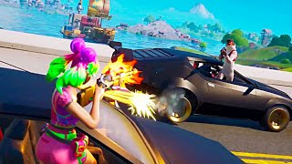 FORTNITE Race Cars Gameplay by Game News