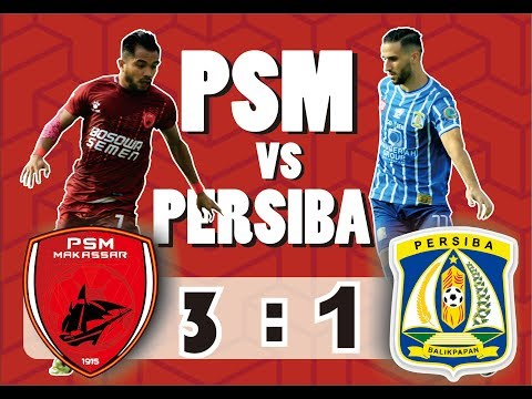 (THE MACZ MAN)  PSM VS PERSIBA BALIKPAPAN (3-1) | LIGA 1 GOJEK TRAVELOKA