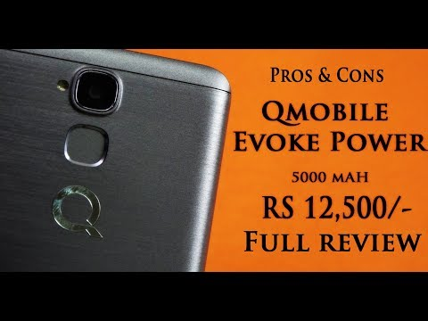 QMobile Evoke Power Full Device Review (RS.12,500)   Smartphone Reviews by Phoneworld