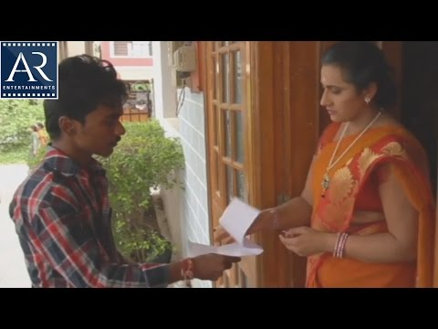 Aunty with courier Boy | Kasitho Movie Scenes | AR Entertainments