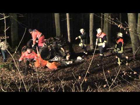Bad Arolsen: Mann stirbt bei schwerem Unfall