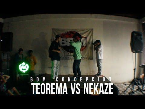 BDM - BDM CONCEPCION 2014 TEOREMA VS NEKAZE GANADOR: TEOREMA + info en www.batallademaestros.cl.