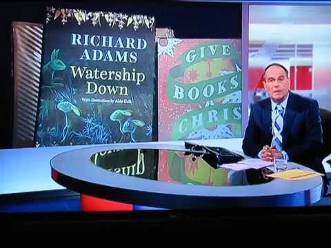 Watership Down Author Richard Adams on BBC South Today with new illustrated edition by Oneworld