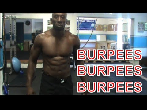 Amazing Burpee Workout!