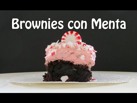 Brownies de Chocolate con Menta -- The Frugal Chef
