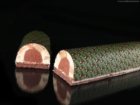 Recette de Bûche de Noël chocolat poire