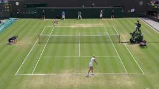 Tennis Highlights, Video - Wimbledon 2013 Day 7 Highlights: Laura Robson v Kaia Kanepi