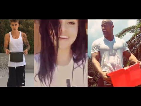 ALS Ice Bucket Challenge – Celebrities (Justin Bieber, Selena Gomez, C. Ronaldo, Oprah, The Rock..)