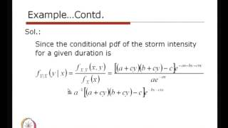 Mod-01 Lec-22 Conditional Probability Distribution (Contd.)