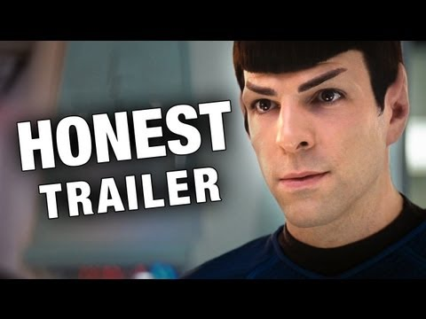 Trek - With Star Trek Intro Darkness coming out next week, we thought we'd lay Into JJ Abrams' Original... So put your phasers on laugh and boldly go to where no Tr...