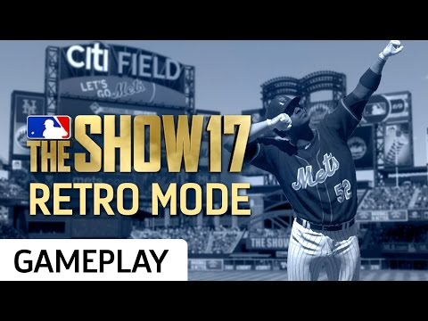 Playing A Full Retro Mode Game In MLB The Show 17 (видео)