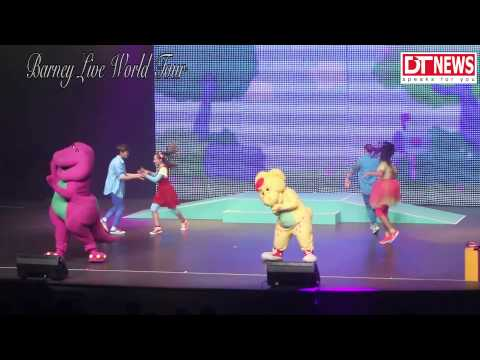Barney Live World Tour video