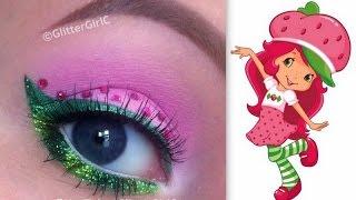 Strawberry Shortcake Makeup Tutorial - YouTube