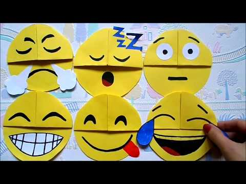 Easy paper craft: DIY emoji bookmark corners | Easy back to school supplies | Maison Zizou