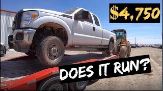 Video $4,750 2015 Ford F250 4x4 Auction WIN! Does it RUN? MP3, 3GP, MP4, WEBM, AVI, FLV Juli 2019