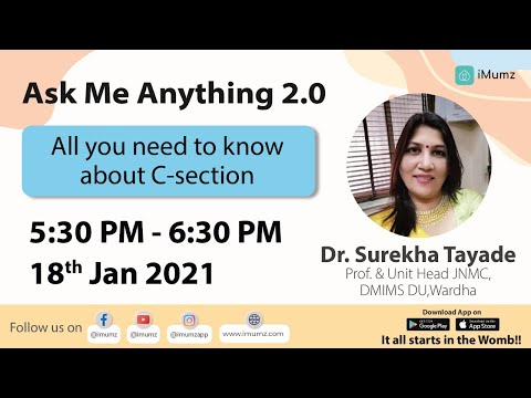 Ask me anything with Dr. Surekha Tayade | All you need to know about C-section | Episode -185