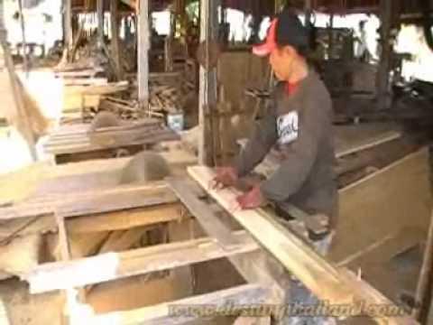 โรงงานไม้สัก อ.สูงเม่น Sung Men Teak wood Factory