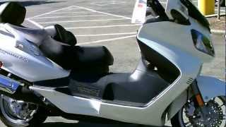 7. Contra Costa Powersports-Used 2012 Suzuki Burgman 650 Executive luxury scooter with ABS brakes
