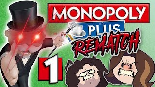 Monopoly - THE REMATCH: It's On... Again. - PART 1 - Game Grumps VS