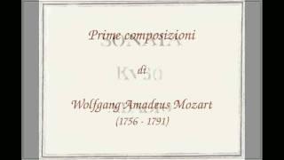 Sonata per violino in fa maggiore KV 30 (1765) in due movimenti: Adagio - Rondeaux (Tempo di Minuetto) di W.A. Mozart...
