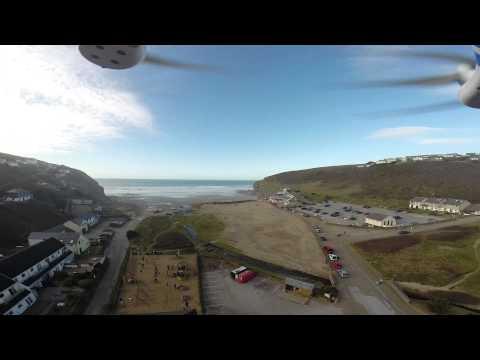 A drone's eye view