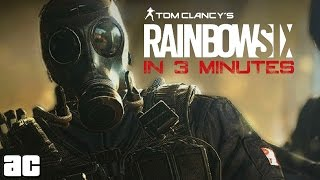 The Entire Rainbow Six Franchise in 3 Minutes (Rainbow Six Animation)
