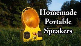 In this video I will show you my latest project, a homemade diy bluetooth speaker inside an old construction site lantern. An audio sample of the boom box can be found here:http://www.doityourselfgadgets.com/2016/10/Boombox.htmlLinks to the components here:http://www.dx.com/p/plastic-copper-push-button-power-switches-red-10-pcs-153209http://www.dx.com/p/20w-hi-fi-mp3-decoder-board-w-remote-amplifier-board-254698#.V-6pVcmOT4Yhttp://www.dx.com/p/bluetooth-v2-0-edr-usb-drive-audio-receiver-w-3-5mm-audio-male-to-male-cable-black-163694#.V-6pW8mOT4Yhttp://www.dx.com/p/jtron-diy-toggle-switch-102-single-joint-6-pin-on-on-silver-blue-5-piece-pack-269203#.V-6pWsmOT4Yhttp://www.dx.com/p/rd03-mini-0-36-red-led-digital-voltage-measuring-meter-module-black-blue-223914#.V-6pU8mOT4Yhttp://www.dx.com/p/5w-led-emitter-on-star-white-light-4516#.V-6pWMmOT4YSpeakers: http://www.dx.com/s/Ohm+speakersPlease subscribe to my channel for future projects!My Channel: http://www.youtube.com/user/TheLiquiderMy Website:http://www.doityourselfgadgets.com/Like me on facebook: http://www.facebook.com/DIYTechgadgetsMusic:www.machinimasound.com - Dance of the pixies© by Doityourselfgadets