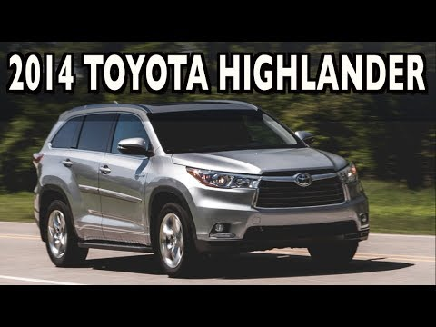 2014 Toyota Highlander on Everyman Driver (First Drive Review)